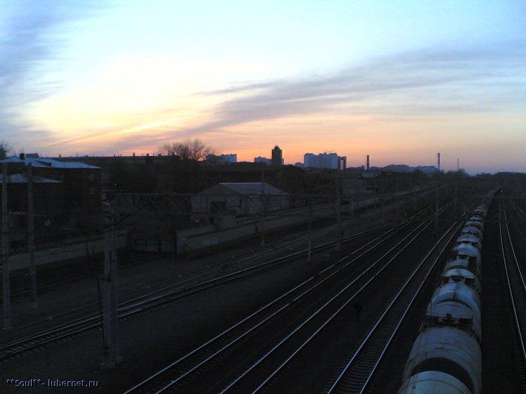 Фотография: Железная дорога. вид с моста.jpg, пользователя: **Soul**